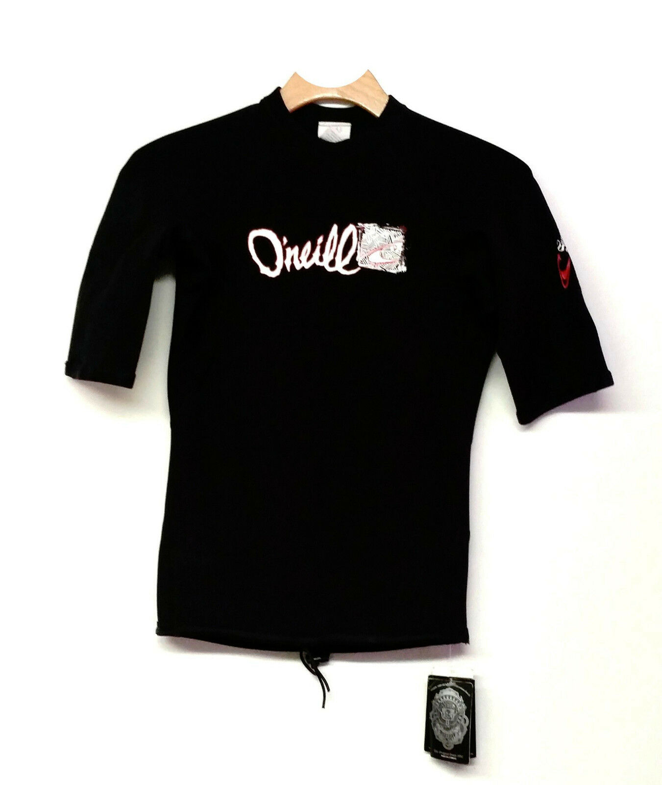 O'NEILL Men's .5mm THINSKINS SUPERFREAK Neoprene Top - BLK BLK - Small - NWT