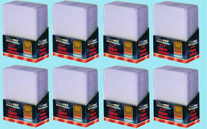 200-Ultra-Pro-3x4-REGULAR-TOPLOADERS-NEW-Standard-Size-Trading-Card-Sleeve-Rigid
