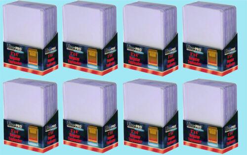 200 Ultra Pro 3x4 regular toploaders Nuevo Tamaño Estándar Trading Card Sleeve Rígido