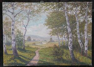 2.) Gemälde signiert: Danzinger, um 1920