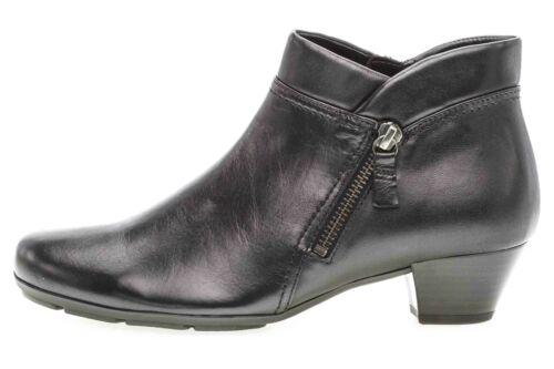 Gabor Basic botines en talla extragrande negro 35.634.27 grandes zapatos señora