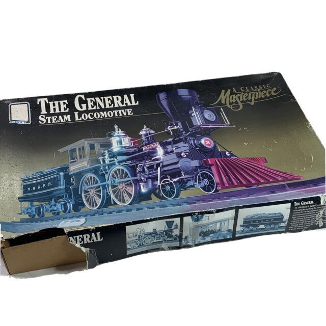 New 1992 AMT ERTL General Steam Locomotive Model 1/25 Unopened Kit ~ Box Damage