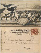Comando del 4° corpo d'armata Genova, viaggiata 1904