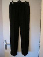 Pantalon de tailleur Noir Comptoir des Cotonniers pour Femmes, taille 40