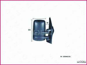 Glace Rétroviseur Gauche Renault Master de 1998 à 2003 support rond NEUF