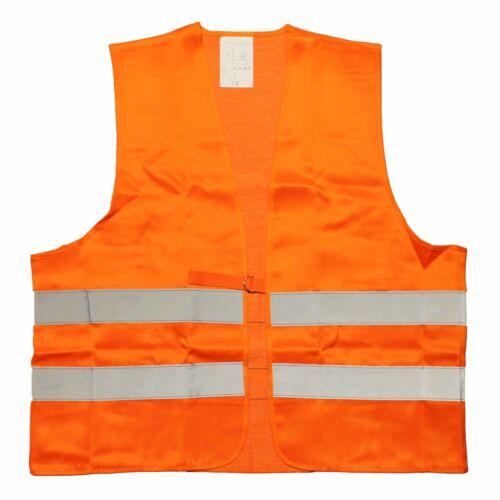 wicaTex Warnweste Textil fluoreszierendes Orange