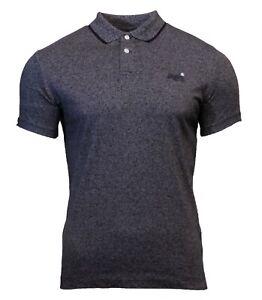 Camisa-de-manga-corta-para-hombre-Orange-Label-Nuevo-Polo-Jersey-Camiseta-Cuello-Negro