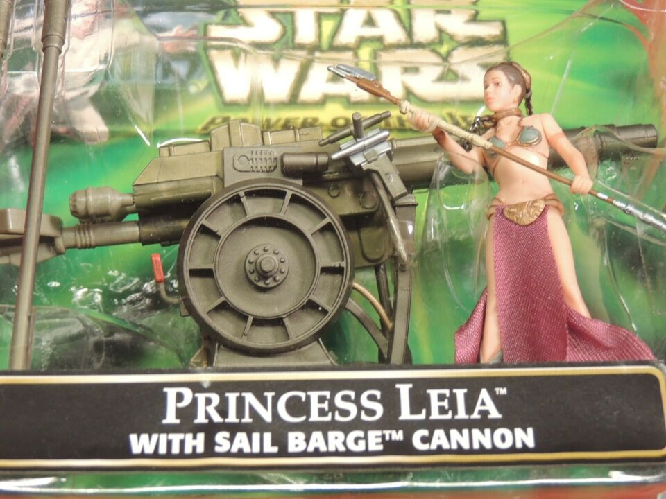 STAR WARS- PRINCESS LEIA WITH CANNON, STAR WARS