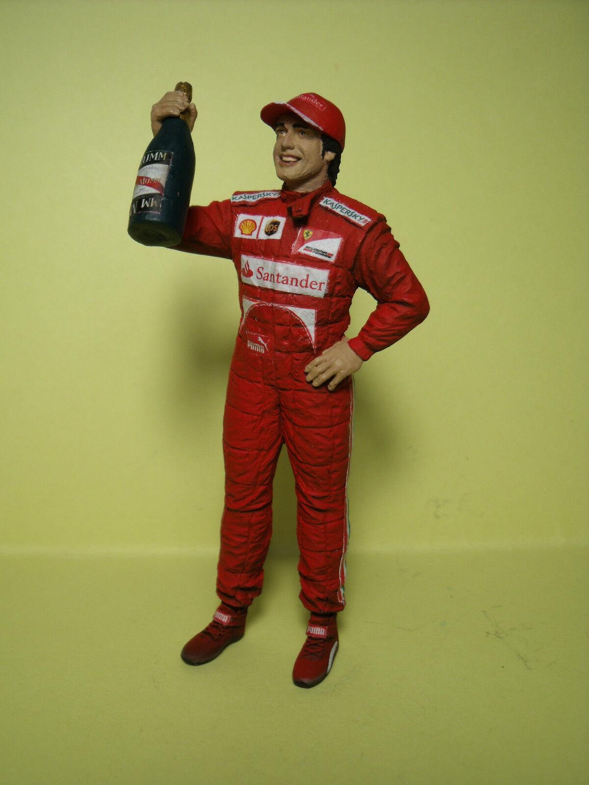 Fernando Alonso 1 1 1 18 Sin Pintar Figura Hecha Por brooom No Minichamps 31ba97