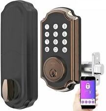 Turbolock TL117 Smart Lock Keypad Voice Prompts Digital Deadbolt w/ App eKeys