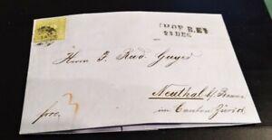 Toller-Auslands-Kreuzer-Brief-1867-12-Kreuzer-gruen-Nr-12-Hof-Neuthal-CH