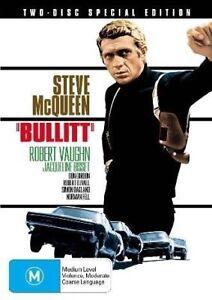 Bullitt-Special-Edition-NEW-DVD-Steve-McQueen-Robert-Duvall-REGION-4-Australia