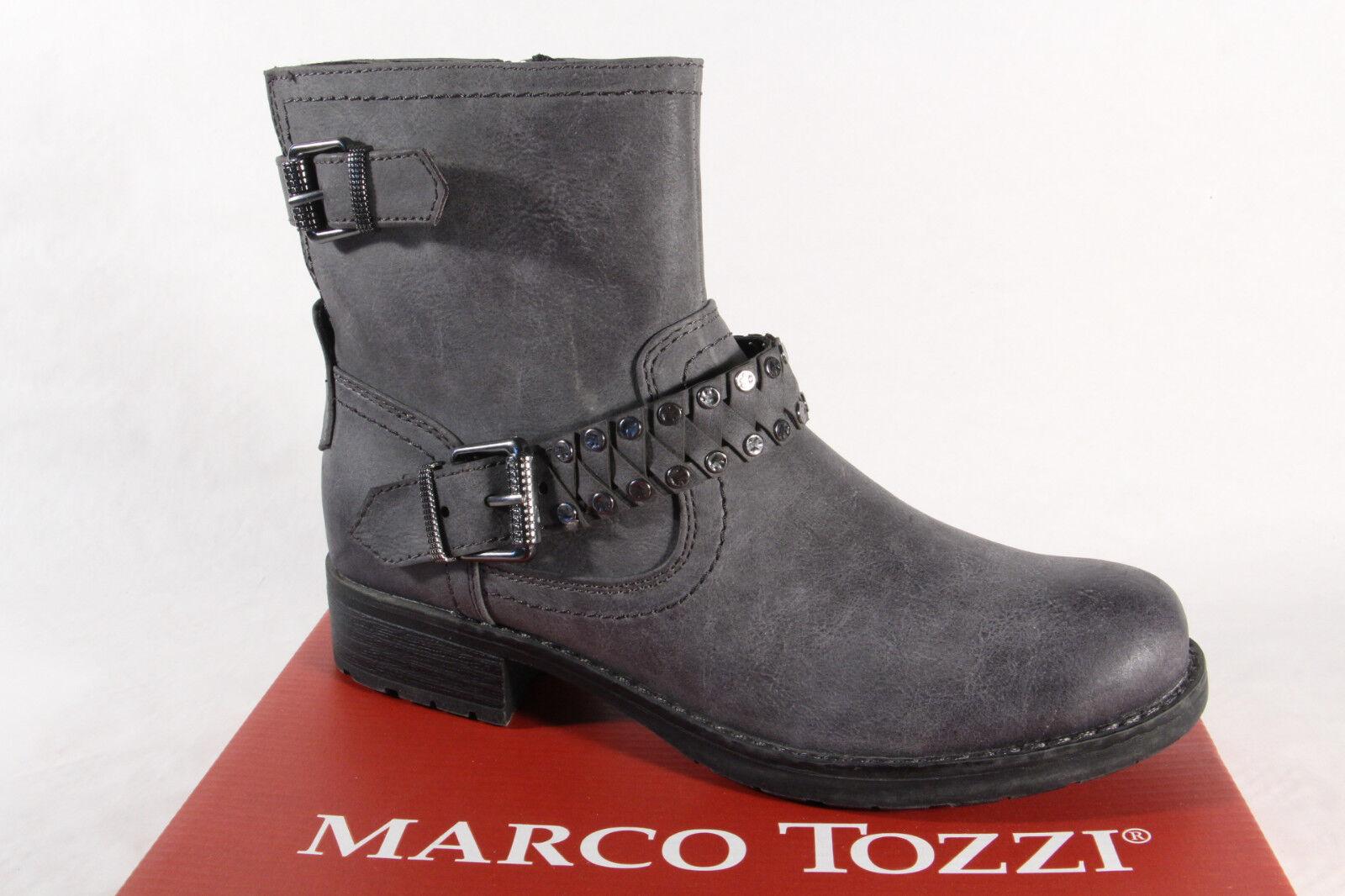 Marco Tozzi 25800 Damen Stiefel, Stiefelette, Stiefel grau NEU 25800 NEU grau 4163d8
