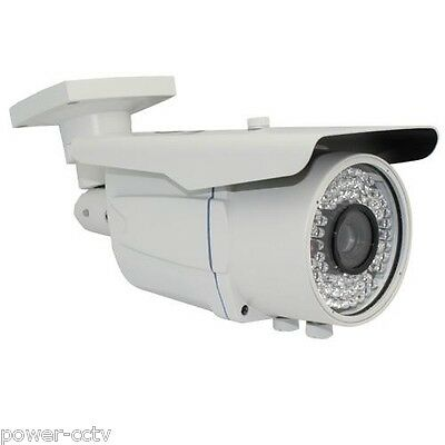 1000TVL 2.8-12mm Varifocal Zoom 72IR IR -CUT Home Surveillance Security Camera