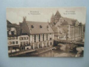 Ansichtskarte-Strassburg-St-Thomasschule-Nr-610
