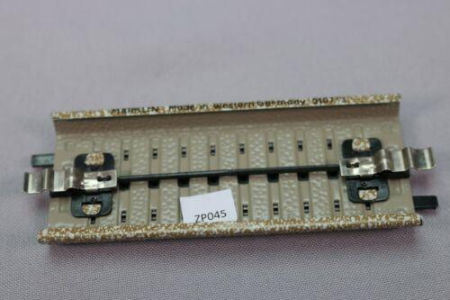 ZP045 Marklin M Train Ho Rail 5107 1 Element droit longueur ½ = 90 mm