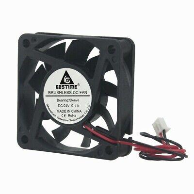 10Pcs 6cm 60mm 60x60x10mm DC 12V 3Pin Quiet Brushless PC Computer Cooling fan