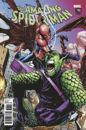 AMAZING SPIDER-MAN #798 RAMOS CONNECTING VARIANT RED GOBLIN!