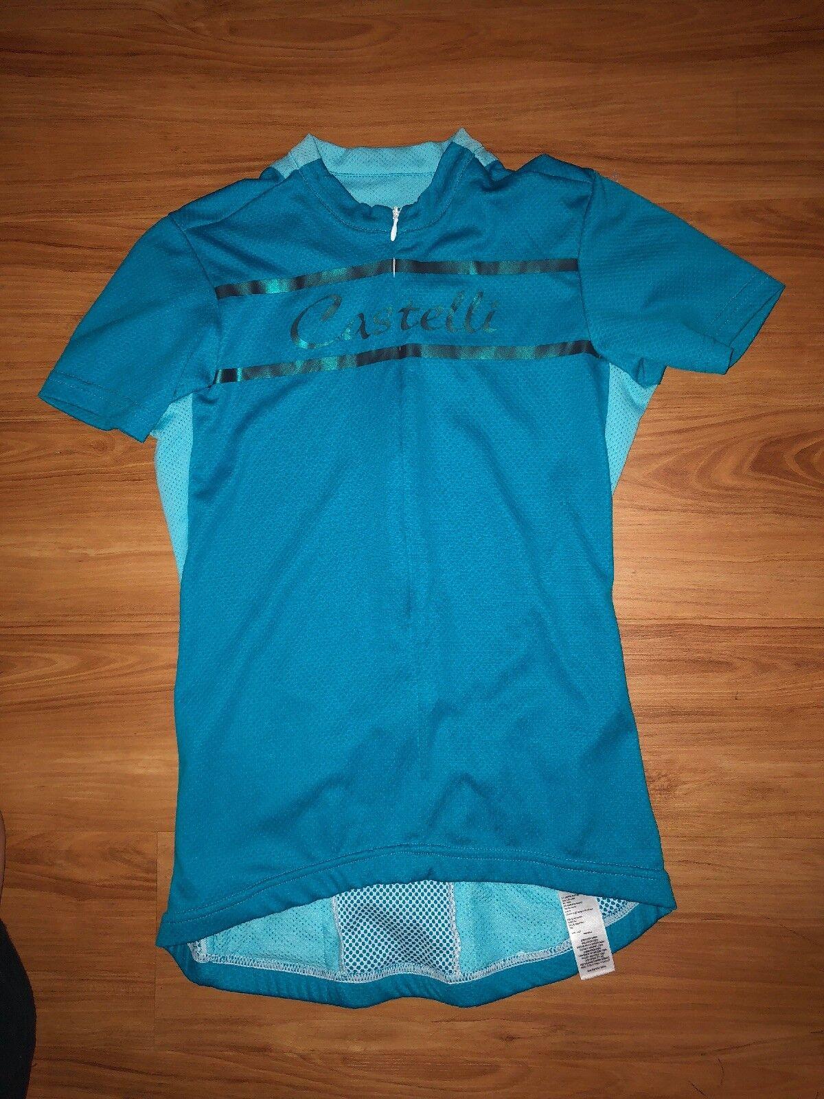 Castelli Womens Cycling Jersey Size XS