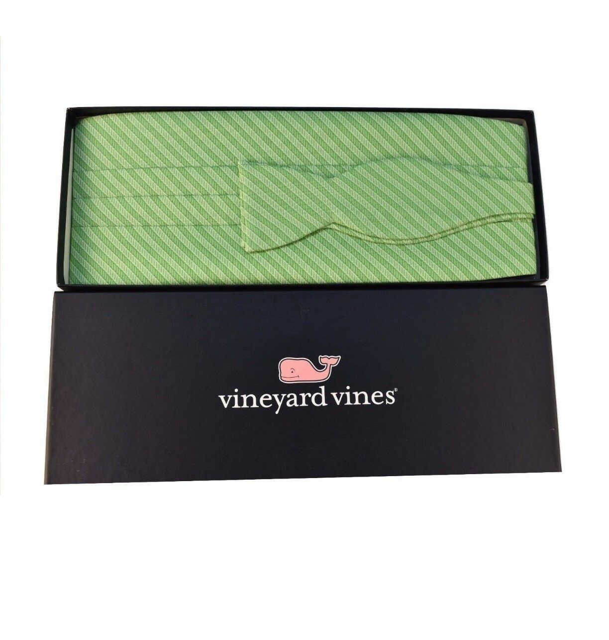 Martha's Vinyard bow tie and belt ( green)