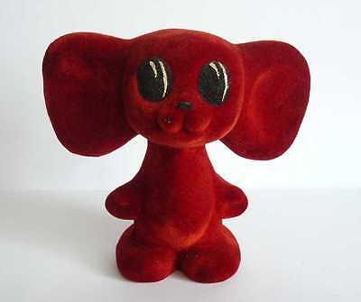 1970s UUSR Russian Soviet Characters Toy Red Polymer Cheburashka RARE