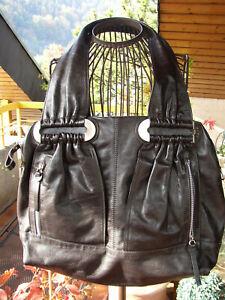 Shopper Bag Handtasche It Extravagante Braun Abro Schwarz nkOP8XN0wZ