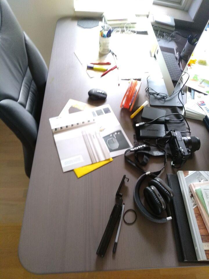 Skrive-/computerbord, Ikea, b: 160 d: 80 h: 75