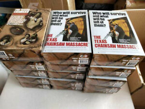"""NECA Texas Chainsaw Massacre Leatherface 7/"""" Action Figure 40th Anniversary Doll"""