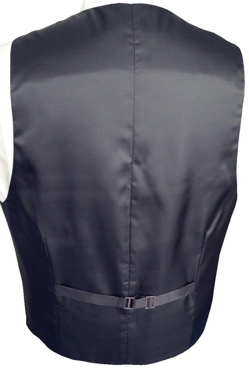 Wedding Waistcoat With Plastron, Handkerchief And Tie 4-tlg. Fitted No. 35.5