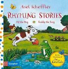 Rhyming Stories: Pip the Dog and Freddy the Frog by Axel Scheffler (Board book, 2014)