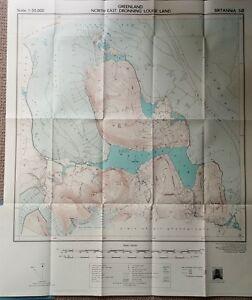 1956-Hamilton-amp-King-NORTH-GREENLAND-EXPEDITION-SE-Iceland-MAPS-06