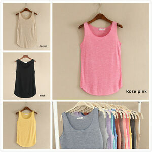 Fashion-Women-Summer-Vest-Tops-Sleeveless-Blouse-Casual-Tank-Tops-Cotton-T-Shirt