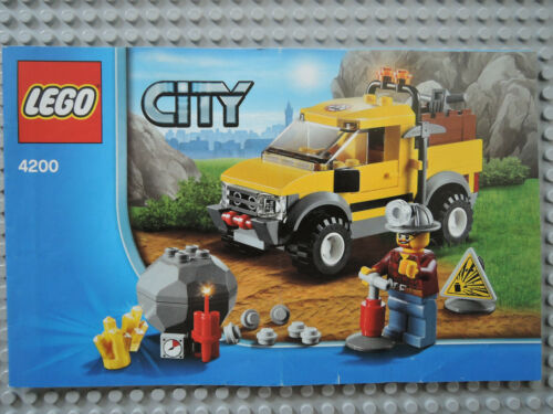 LEGO Bauanleitung Instruction  City 4200