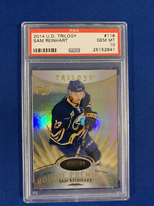 SAM-REINHART-PSA-10-2014-15-UPPER-DECK-TRILOGY-ROOKIE-CARD-799-POP-2