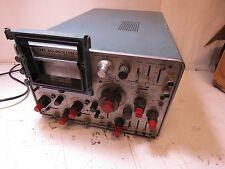 Tektronix 454 2 Channel Analog Oscilloscope 150Mhz w/c-30 camera adapter kit #7