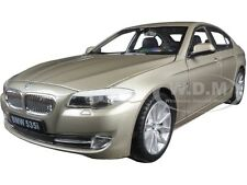 2010 BMW (F10) 535i 5 SERIES GOLD 1/24 DIECAST MODEL CAR BY WELLY 24026
