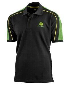 John-Deere-Men-039-s-Classic-Polo-Shirt