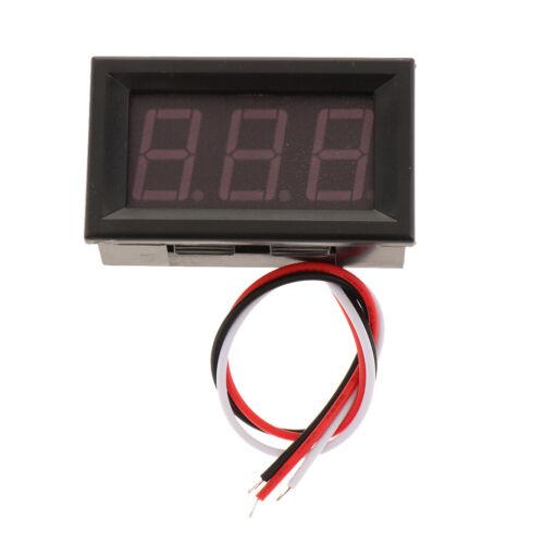 H27 LED Digital Spannungsmesser Super 100V Voltmeter LCD Spannungsmesser
