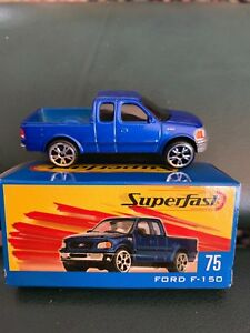 Matchbox-75-Ford-F-150-Blue-Pickup-Truck-with-Box-Superfast