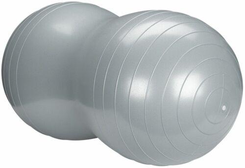 Avento Fitness//Gymnastikball Peanut Ø 50 x 100 cm Silber