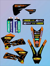 2006 - 2012  KTM SX 85 GRAPHICS KIT DECALS STICKERS