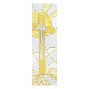 Details about Symbols of the Liturgy Series Church Banner for Lent and  Easter - Cross