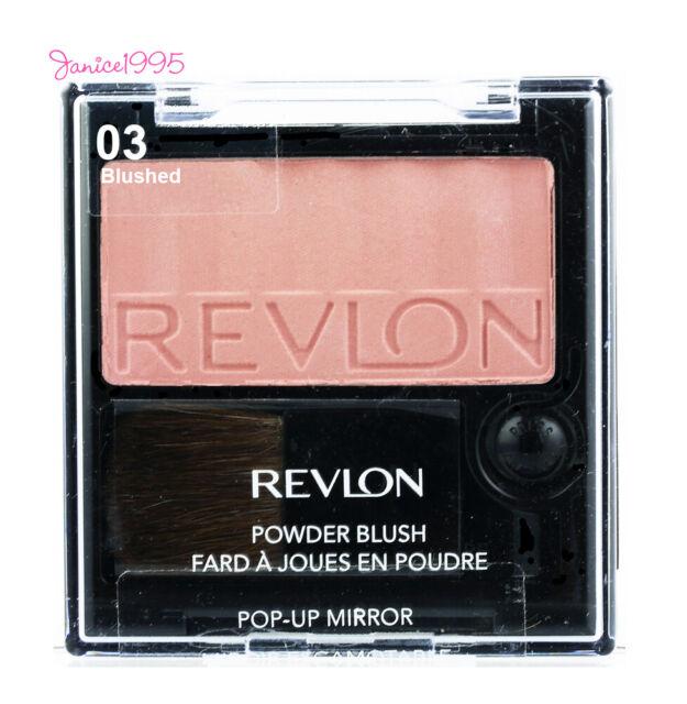 REVLON Powder Blush w Pop Up Mirror #03 BLUSHED