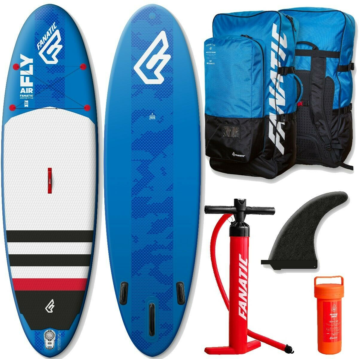 Fanatic Sup Fly Air Gonflable Sup Stand Up Paddle Planche Planche de Surf