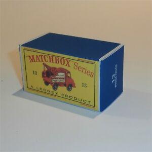 Matchbox-Lesney-13-c-Thames-Trader-Wreck-Truck-empty-Repro-D-style-Box