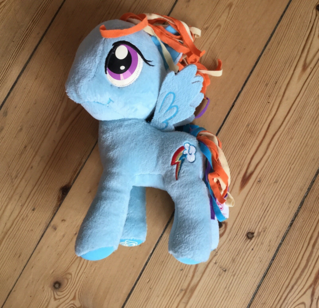 My Little Pony Rainbow Dash, My Little Pony, Fin bamse,…