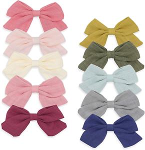 "Disney Princess Hair Bows Clips Baby Girl Glitter Foamy 4.5/"" Handmade"