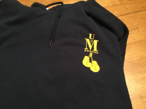Vintage Michigan Wolverines U of M Gildan Boxing C