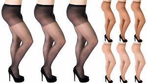 Plus Size Everyday Women Sheer Tights 20 Denier (uk 16-18) By Aurellie