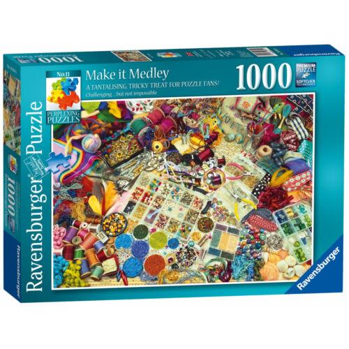 NOUVEAU! Ravensburger-Puzzles make it MEDLEY 1000 Piece Jigsaw Puzzle